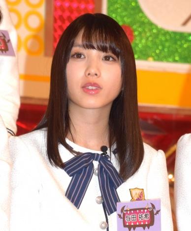 日本テレビ『NOGIBINGO!8』の初回収録に参加した乃木坂46の与田祐希 (C)ORICON NewS inc.