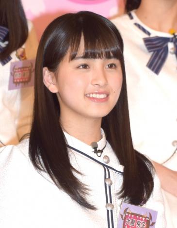 日本テレビ『NOGIBINGO!8』の初回収録に参加した乃木坂46の大園桃子 (C)ORICON NewS inc.