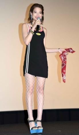映画『ワイルド・スピード ICE BREAK』日本語吹替え版プレミア上映会に出席した瑛茉ジャスミン (C)ORICON NewS inc.