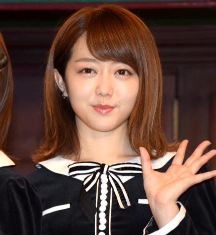 『サムネイル』ゲネプロ後の囲み取材に出席したAKB48・峯岸みなみ (C)ORICON NewS inc.