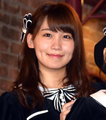 『サムネイル』ゲネプロ後の囲み取材に出席したAKB48・小嶋真子 (C)ORICON NewS inc.