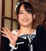『サムネイル』ゲネプロ後の囲み取材に出席したAKB48・倉野尾成美 (C)ORICON NewS inc.