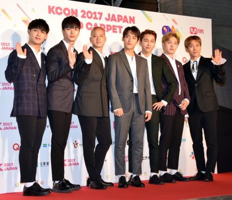 『KCON 2017 JAPAN×M COUNTDOWN』に登場したBTOB (C)ORICON NewS inc.