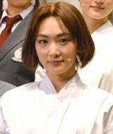 舞台『あさひなぐ』の初日前囲み取材に出席した乃木坂46・生駒里奈 (C)ORICON NewS inc.
