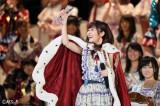 『第8回AKB48選抜総選挙』で二連覇を達成した指原莉乃 (C)AKS