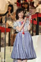 『第8回AKB48選抜総選挙』の渡辺麻友(C)AKS