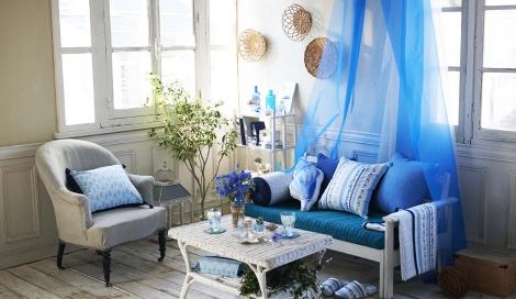 サムネイル ブルーとグリーンを組み合わせれば、初夏らしい爽やかボタニカル(Afternoon Tea LIVING)
