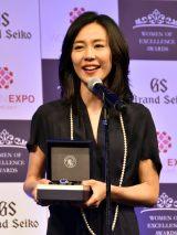働く女性のロールモデルとなる女性を表彰する第3回「Woman of Excellence Awards」を受賞した木村佳乃(スペシャリスト部門)(C)ORICON NewS inc.