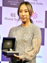 働く女性のロールモデルとなる女性を表彰する第3回「Woman of Excellence Awards」を受賞した蜷川実花(ビジネス部門) (C)ORICON NewS inc.