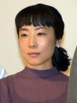 映画『ポエトリーエンジェル』初日舞台あいさつに登壇した山田真歩 (C)ORICON NewS inc.