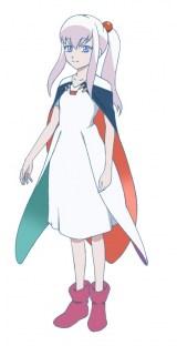 7月放送開始のアニメ『18if』リリィ(CV:名塚佳織)(C)mobcast inc./18if project