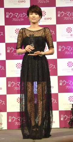 『ビューティーミューズ大賞2017』を受賞した吉瀬美智子 (C)ORICON NewS inc.