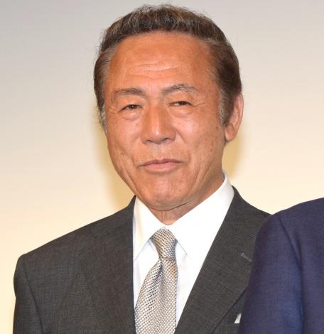 映画『家族はつらいよ2』公開直前舞台あいさつに登壇した小林稔侍 (C)ORICON NewS inc.