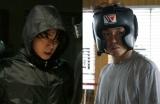 映画『あゝ、荒野』でのボクシング姿を公開した(左から)菅田将暉、ヤン・イクチュン (C)2017『あゝ、荒野』フィルムパートナーズ