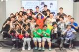 参加者とともにアニソンで汗を流した Photo by 粂井健太