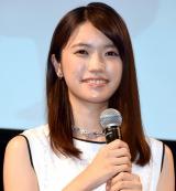 ミュージカル『赤毛のアン』制作記者発表会に出席した美山加恋 (C)ORICON NewS inc.
