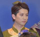 舞台『白蛇伝』のゲネプロ前に行われた囲み取材に出席した反橋宗一郎 (C)ORICON NewS inc.