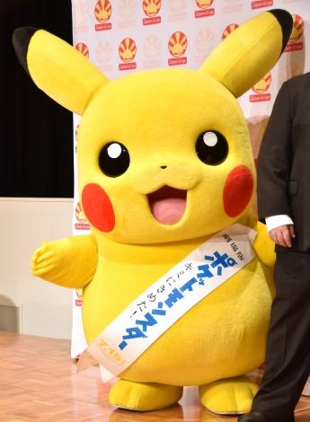 『Japan Expo 2017』プレス発表会に出席したピカチュウ (C)ORICON NewS inc.