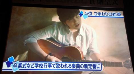 『2017年JASRAC賞』5位は「ひまわりの約束」 (C)ORICON NewS inc.
