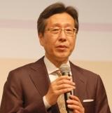 日本音楽著作権協会(JASRAC)の浅石道夫理事長 (C)ORICON NewS inc.