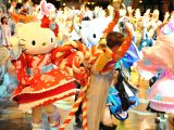 「夏祭り in サンリオピューロランド」夜祭りマーチングパレードイメージ
