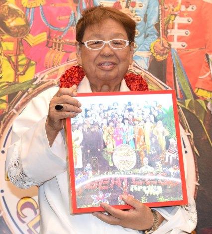 ザ・ビートルズのアルバム『サージェント・ペパーズ』50周年記念盤の発売記念イベントに出席した高木ブー (C)ORICON NewS inc.