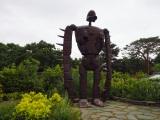 三鷹の森ジブリ美術館、屋上庭園にあるロボット兵 (C)ORICON NewS inc.