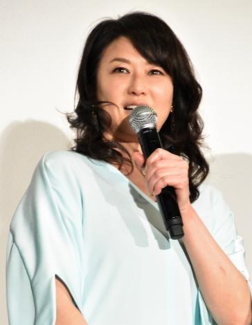 『家族はつらいよ2』初日舞台あいさつに出席した夏川結衣 (C)ORICON NewS inc.