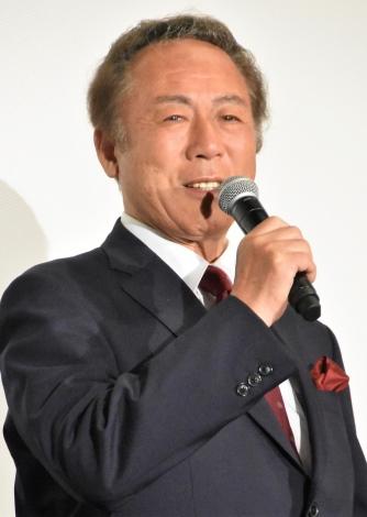 『家族はつらいよ2』初日舞台あいさつに出席した小林稔侍 (C)ORICON NewS inc.