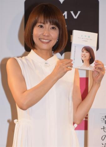 『まや道 向かい風でも笑顔の理由』出版記念イベントを開催した小林麻耶 (C)ORICON NewS inc.
