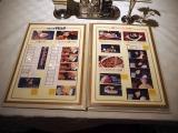 三鷹の森ジブリ美術館の企画展示『食べるを描く。』より。テーブルの上に置かれたメニューブックで、各展示パネルを手にとって見ることができる (C)ORICON NewS inc.