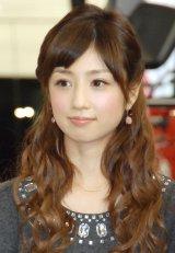 ブログで離婚を報告した小倉優子 (C)ORICON NewS inc.