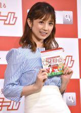 栄養補助飲料『アスミール』イメージキャラクター就任式に出席した小倉優子 (C)ORICON NewS inc.