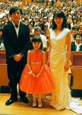 『おんな城主 直虎コンサート』に出演した(写真左から)高橋一生、新井美羽、花總まり