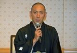 『七月大歌舞伎』取材会に出席した市川海老蔵 (C)ORICON NewS inc.