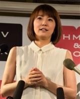 『まや道 向かい風でも笑顔の理由』出版記念イベント前に取材に応じた小林麻耶 (C)ORICON NewS inc.