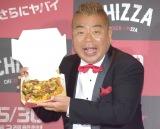 KFC『CHIZZA(チッザ)』第2弾メディア向け発表会に参加した出川哲朗 (C)ORICON NewS inc.
