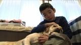 BSジャパン『まさはる君が行く!ポチたまペット大集合』5月9日放送は「密着1年・盲導犬ストーリーお別れスペシャル」(C)BSジャパン