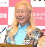 『第11回 全国プロポーズの言葉コンテスト2017』の授賞式に出席した假屋崎省吾氏 (C)ORICON NewS inc.