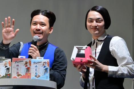 タカラトミー『プリントス』発売イベントに出席したピスタチオ (C)ORICON NewS inc.