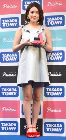 タカラトミー『プリントス』発売イベントに出席した筧美和子 (C)ORICON NewS inc.