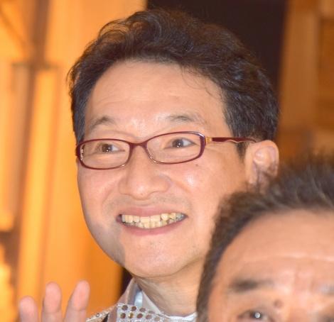熱海五郎一座舞台第4弾『消えた目撃者と悩ましい遺産』の囲み取材に出席した春風亭昇太 (C)ORICON NewS inc.