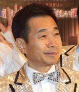 熱海五郎一座舞台第4弾『消えた目撃者と悩ましい遺産』の囲み取材に出席した三宅裕司 (C)ORICON NewS inc.
