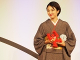 『第54回ギャラクシー賞』個人賞を受賞した満島ひかり(C)ORICON NewS inc.