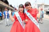 新潟市「白根大凧合戦」市中パレードに参加したNGT48 (C)AKS