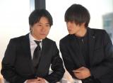 (左から)萩原健太郎監督、窪田正孝