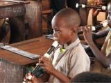 西アフリカ・ベナン共和国、ポルトノヴォ市の小学校