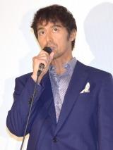 映画『海辺のリア』初日舞台あいさつに出席した阿部寛 (C)ORICON NewS inc.