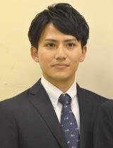 今年度入社のフジアナウンサー・安宅晃樹 (C)ORICON NewS inc.
