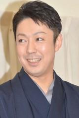 第一子誕生を受け会見を開いた尾上菊之助 (C)ORICON NewS inc.